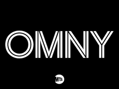 The logo for OMNY, the updated transit card system