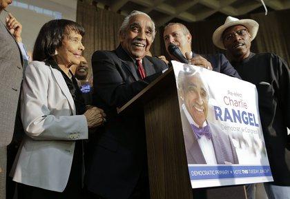 Rangel was feeling triumphant<br/>