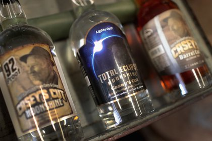 """A distillery in Kentucky has created """"Total Eclipse"""" moonshine<br>"""