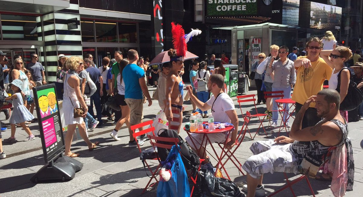 NYPD Times Square Unit Will Tackle Topless Ladies and