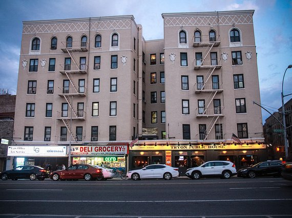 The Tryon Public House on Broadway off Dyckman Street sits at the south end of the Inwood rezoning district.