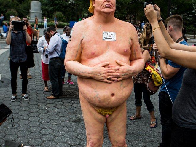 Donald trump wife nude