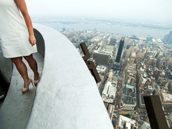 The 103rd floor, closed to the public