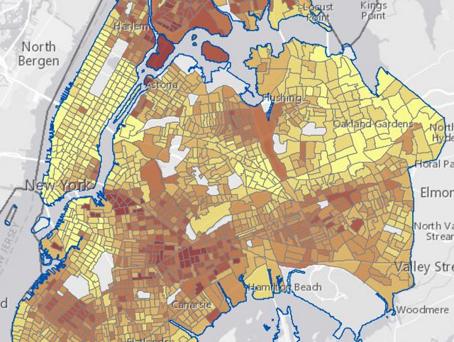 Interactive Maps Show Which NYC Neighborhoods Do The Most ...