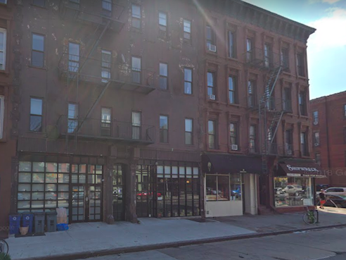 Bedford Avenue at Greene, in Bed-Stuy, where the shooting happened