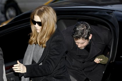 Amy Adams and Darren Le Gallo (Getty Images)