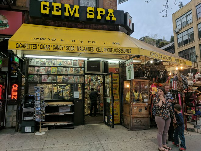 Can Instagram & Colorful New Egg Cream Flavors Keep Gem Spa