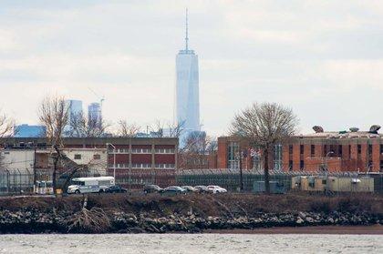 Rikers Island.<br/>