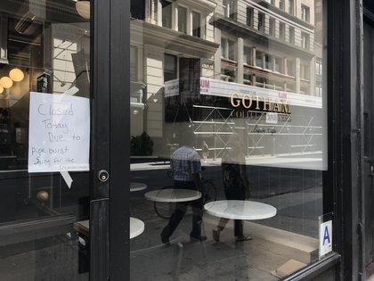 Not open (Jen Chung / Gothamist)