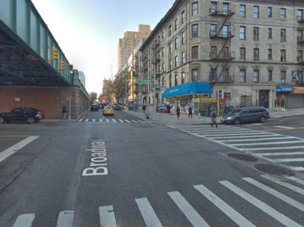 The intersection near where Juan Pacheco was fatally doored.