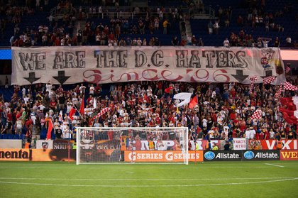 The South Ward reminds DC of their eternal hatred. (Rob Tringali/New York Red Bulls)