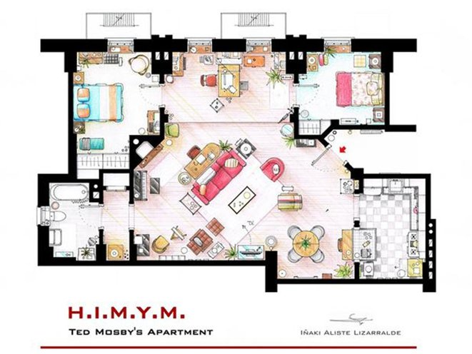 Floor Plans Reveal Apartment Layouts