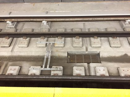 What clean subway tracks look like<br/>