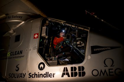 André Borschberg, CEO, Co-founder, and pilot of Solar Impulse<br>