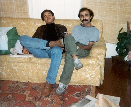 Obama and his old roomie