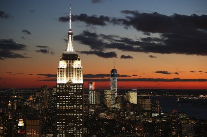 Only perspective makes the Empire State Building taller!