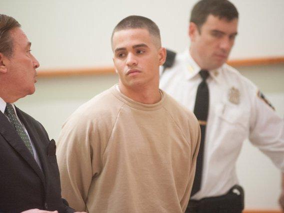 Kevin Alvarez, one of the men involved in Junior Guzman-Feliz's murder.