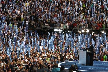 President Obama's speech (Getty)