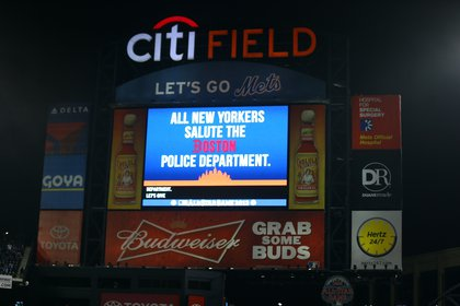A message from the Mets