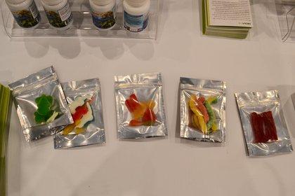 Marijuana-infused gummies. <br>