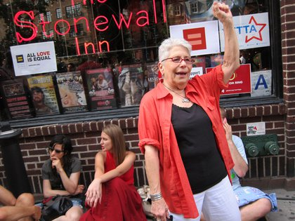 Outside Stonewall <br/>