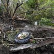 Debris scatters an area, at the site of yesterday's fatal crash Schoharie, N.Y. (Hans Pennink/AP/Shutterstock)