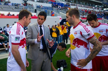 Mike Petke was not happy