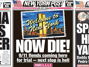 Some classic NY Post covers