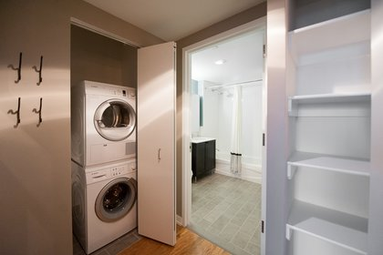 Washer/dryer come standard in every unit<br/>