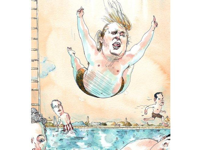 New Yorker Cover Artist Barry Blitt On The Challenges