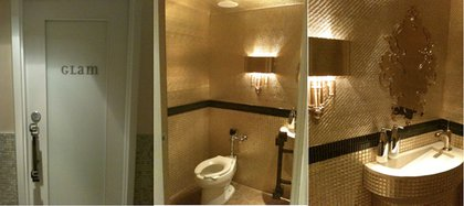 """The Muse Hotel, """"Glam"""" room"""