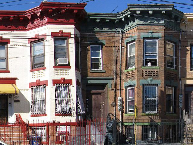 Row houses in East New York