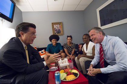 The First Family of NYC with Colbert<br>