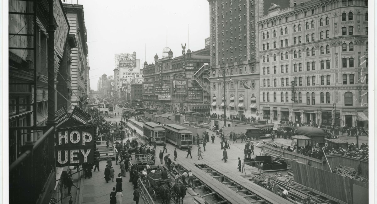 See Incredible Photos Of The NYC Subway Getting Built In The Early 20th Century