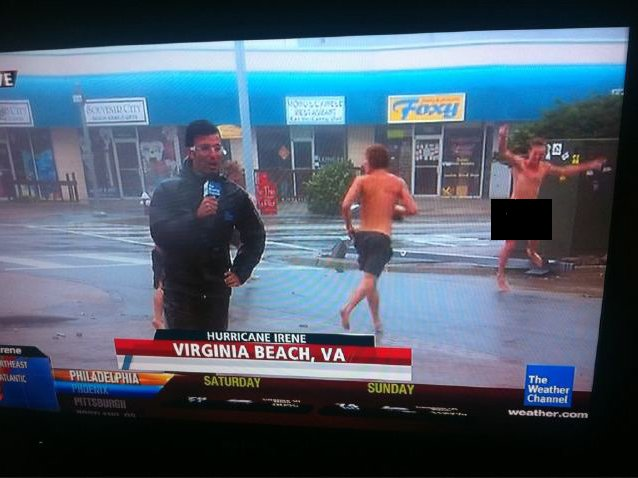Naked Dude on the Weather Channel - YouTube