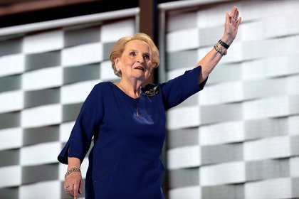 Former Secretary of State Madeleine Albright (Getty)