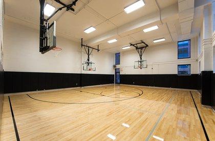Basketball court<br/>