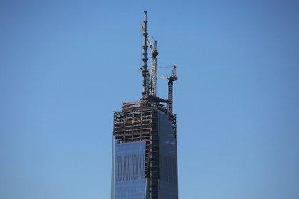 The spire last week<br/>