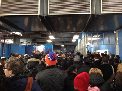 "At WTC PATH station (via Jeff, author of <a href=""http://therewardboss.com"">The Reward Boss</a>)"