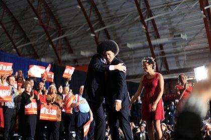 Hug for Dante