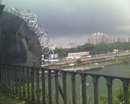 """#highbridge view - somehwere, there's a tornadoooo"""