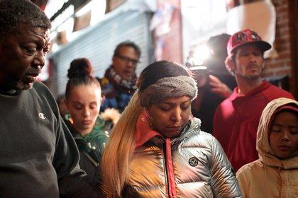 A moment of silence on Staten Island <br>Scott Heins / Gothamist