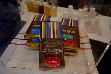 No recreational weed chocolate for you, New Yorkers. <br>