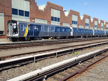 The R-160 cars are part of a 100-car pilot designed to increase the capacity and enhance the performance reliability of the subway car fleet. <br>