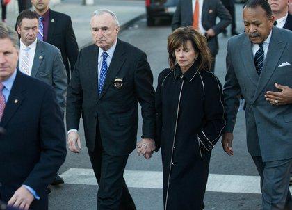 Police Commissioner Bill Braton and wife Rikki Klieman