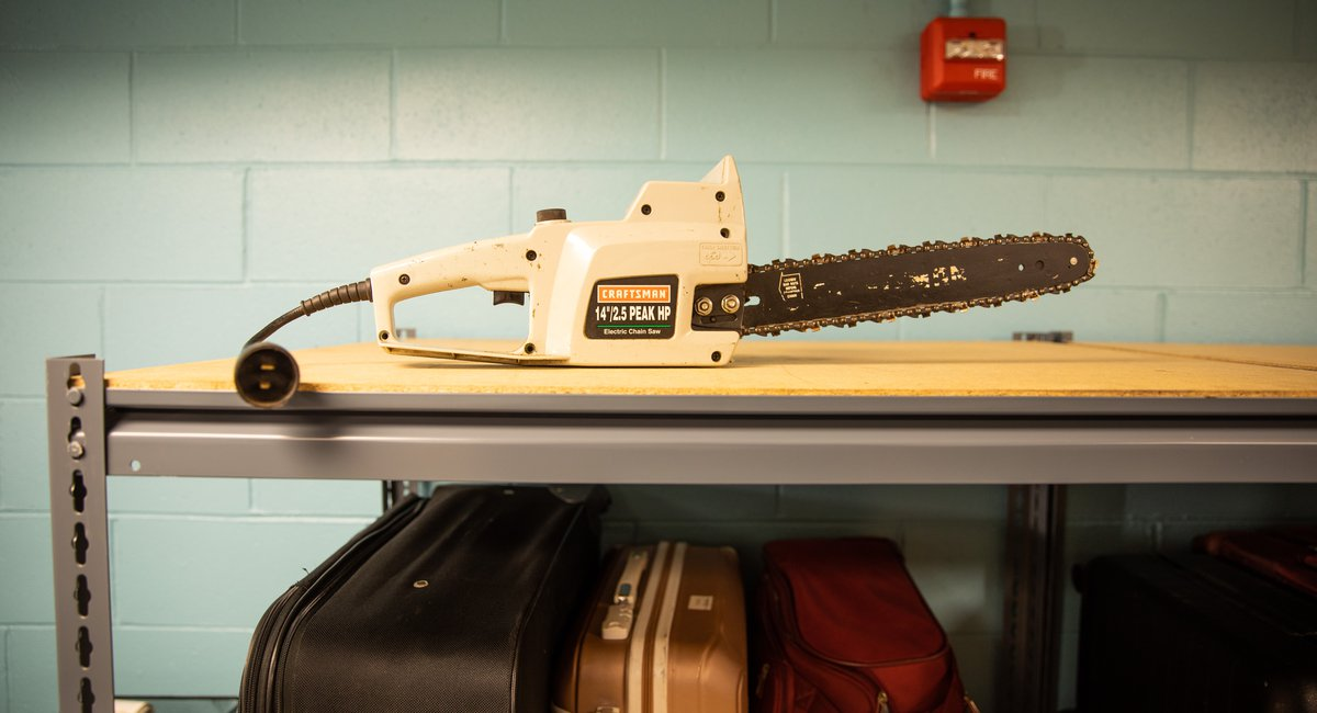 Looking For Your Chainsaw? It's At Penn Station's New Lost & Found