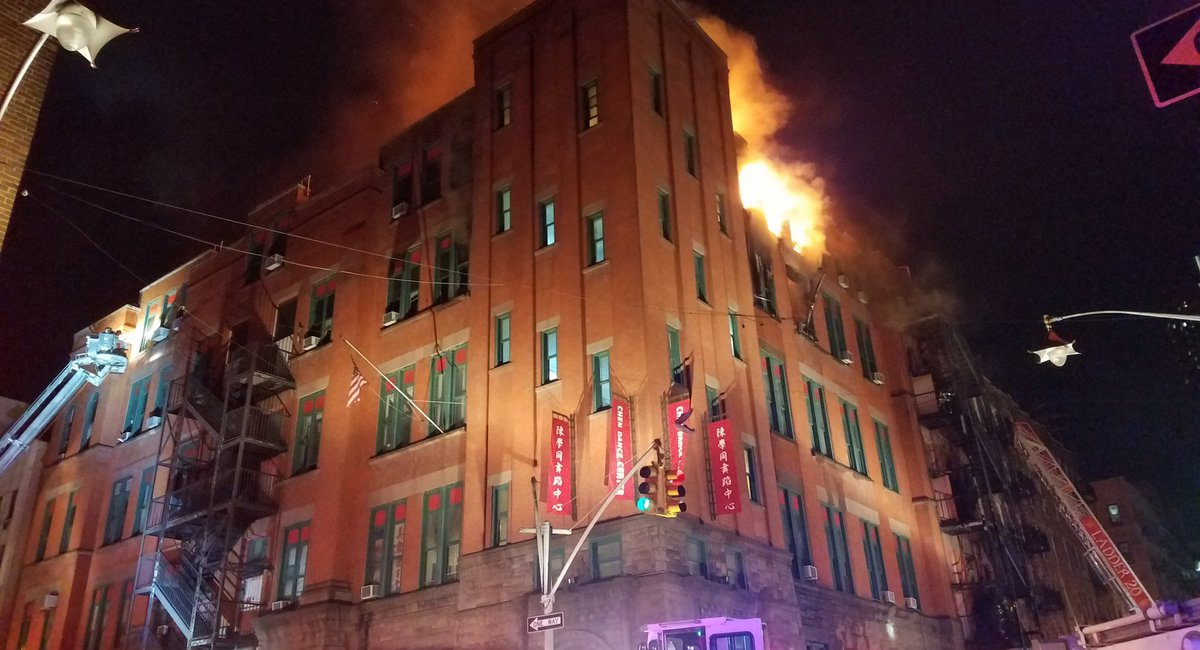 FDNY Still Fighting 'Deep-Seated' Fire In Chinatown Building Housing Museum Of Chinese In America Archives
