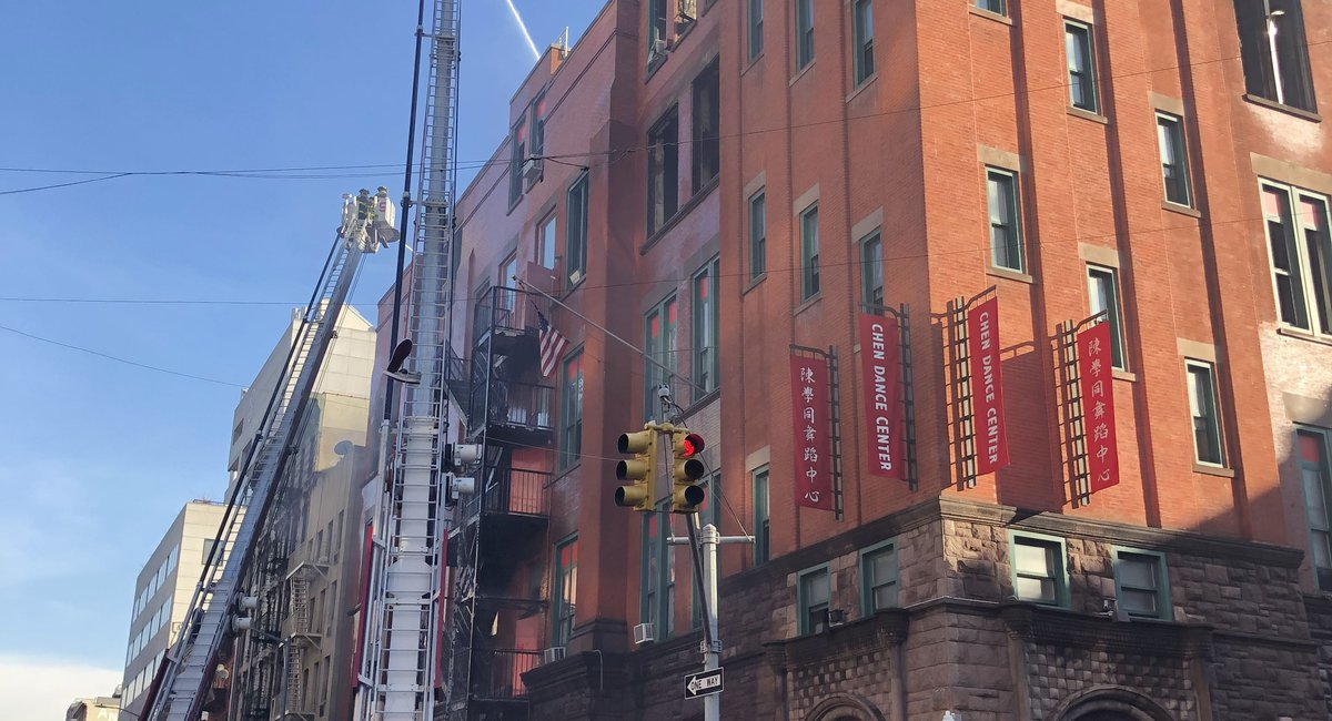 "Museum Of Chinese In America Director Fears Damage To Archives From Chinatown Fire, Including ""Priceless"" Historical Items"