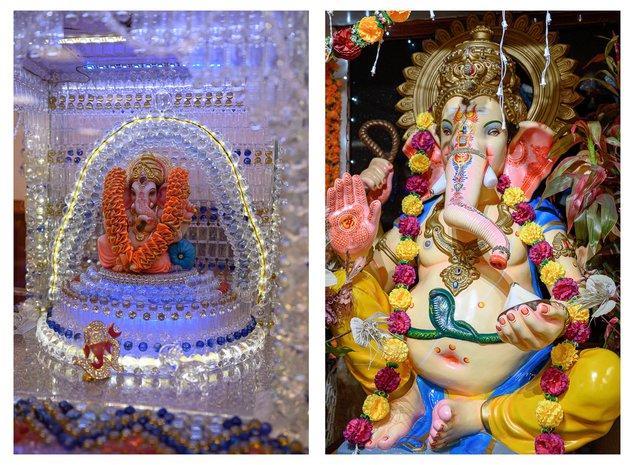 inside the hindu temple