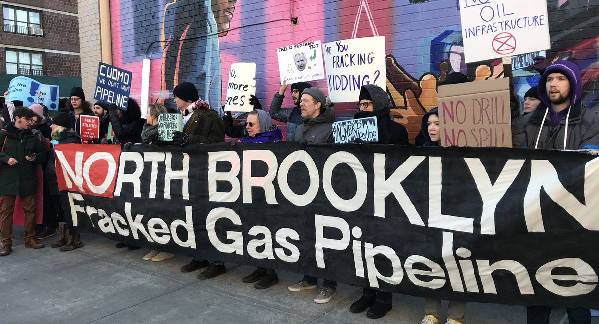 Activists Demand National Grid Halt Project To Extend A Fracked Gas Pipeline Through North Brooklyn